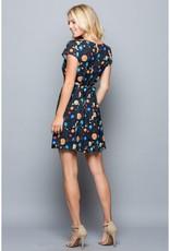 LA Soul Space Galaxy Print Dress