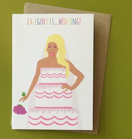 Meet Me in Shermer Category Is... Wedding! (RuPaul) Greeting Card