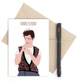 Meet Me in Shermer Danke Schoen (Ferris Bueller) Greeting Card