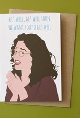 Get Well Soon (Seinfeld) Greeting Card