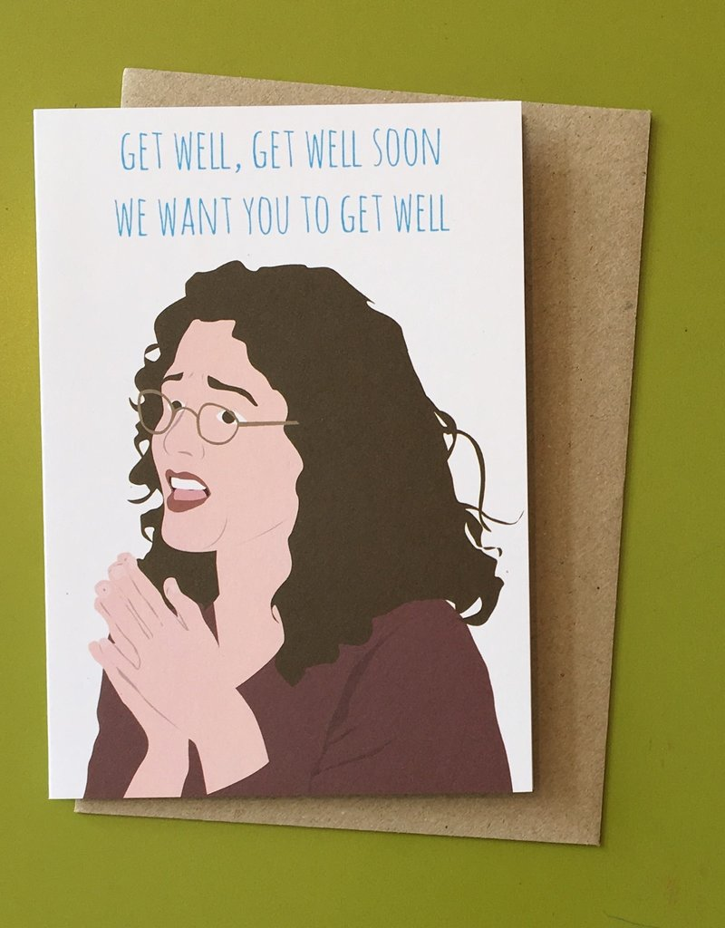 Meet Me in Shermer Get Well Soon (Seinfeld) Greeting Card