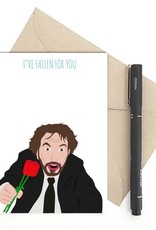 Fallen for You (Die Hard) Greeting Card