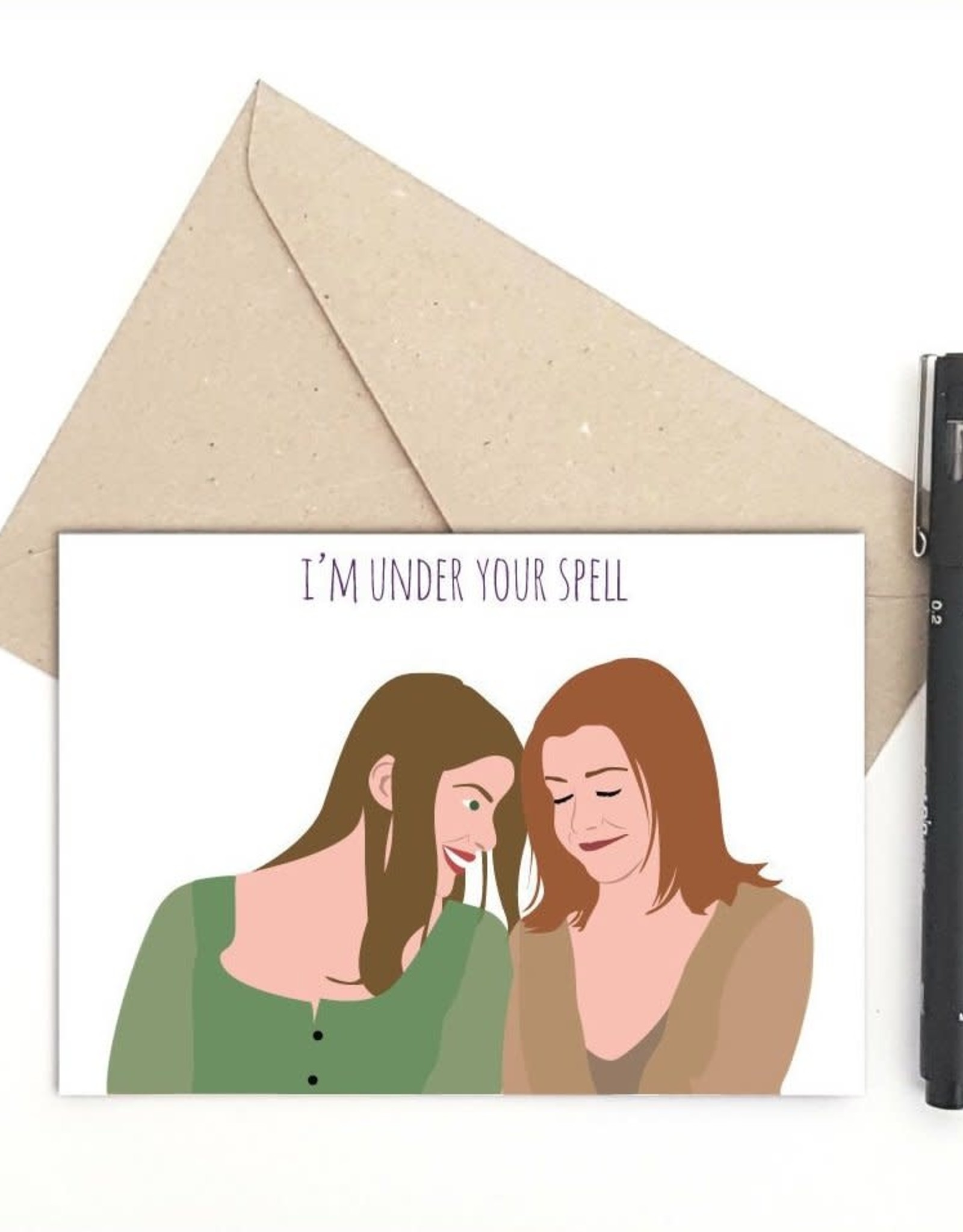 I'm Under Your Spell (Buffy the Vampire Slayer) Greeting Card
