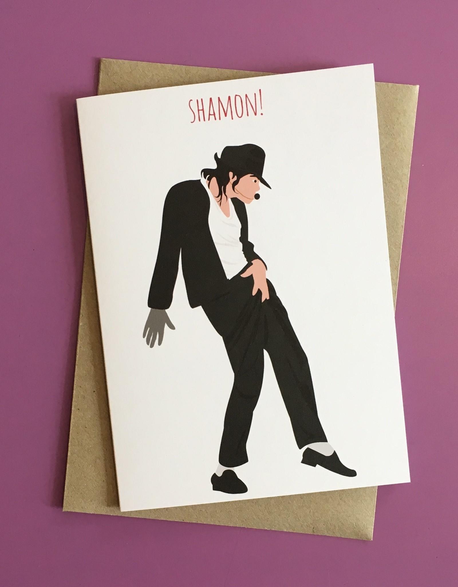 Shamon! (Michael Jackson) Greeting Card