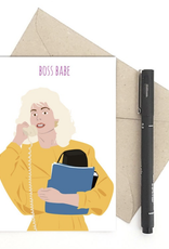 Meet Me in Shermer Boss Babe (Who's the Boss?) Greeting Card
