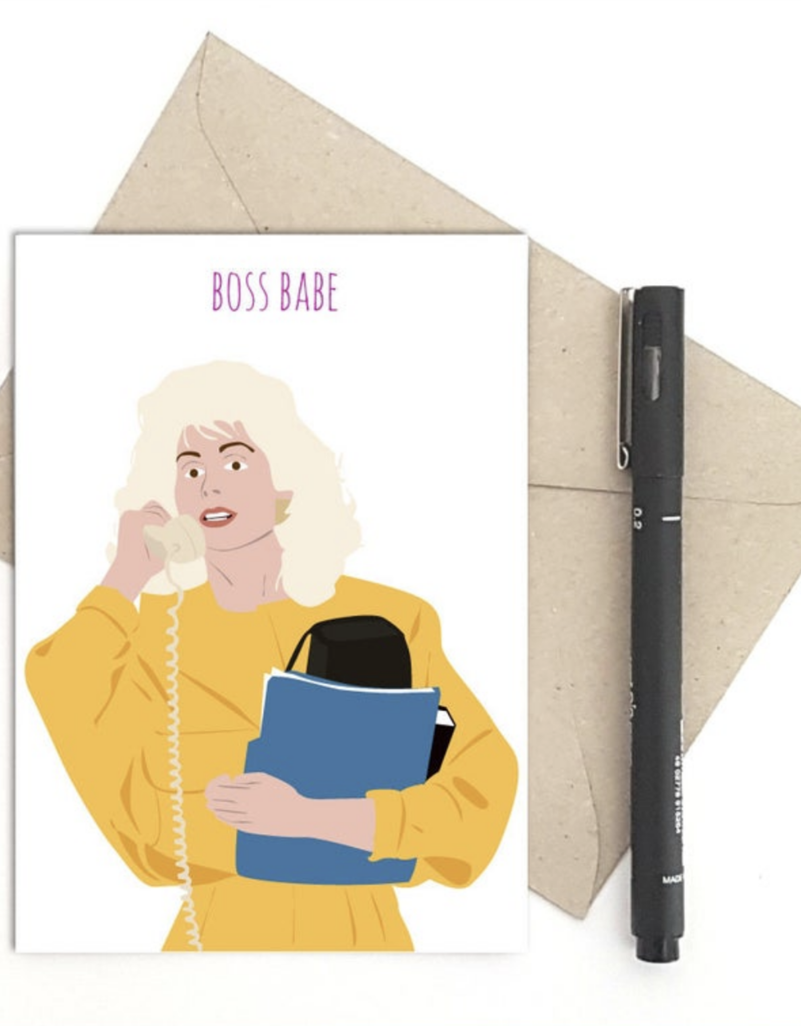 Boss Babe (Who's the Boss?) Greeting Card