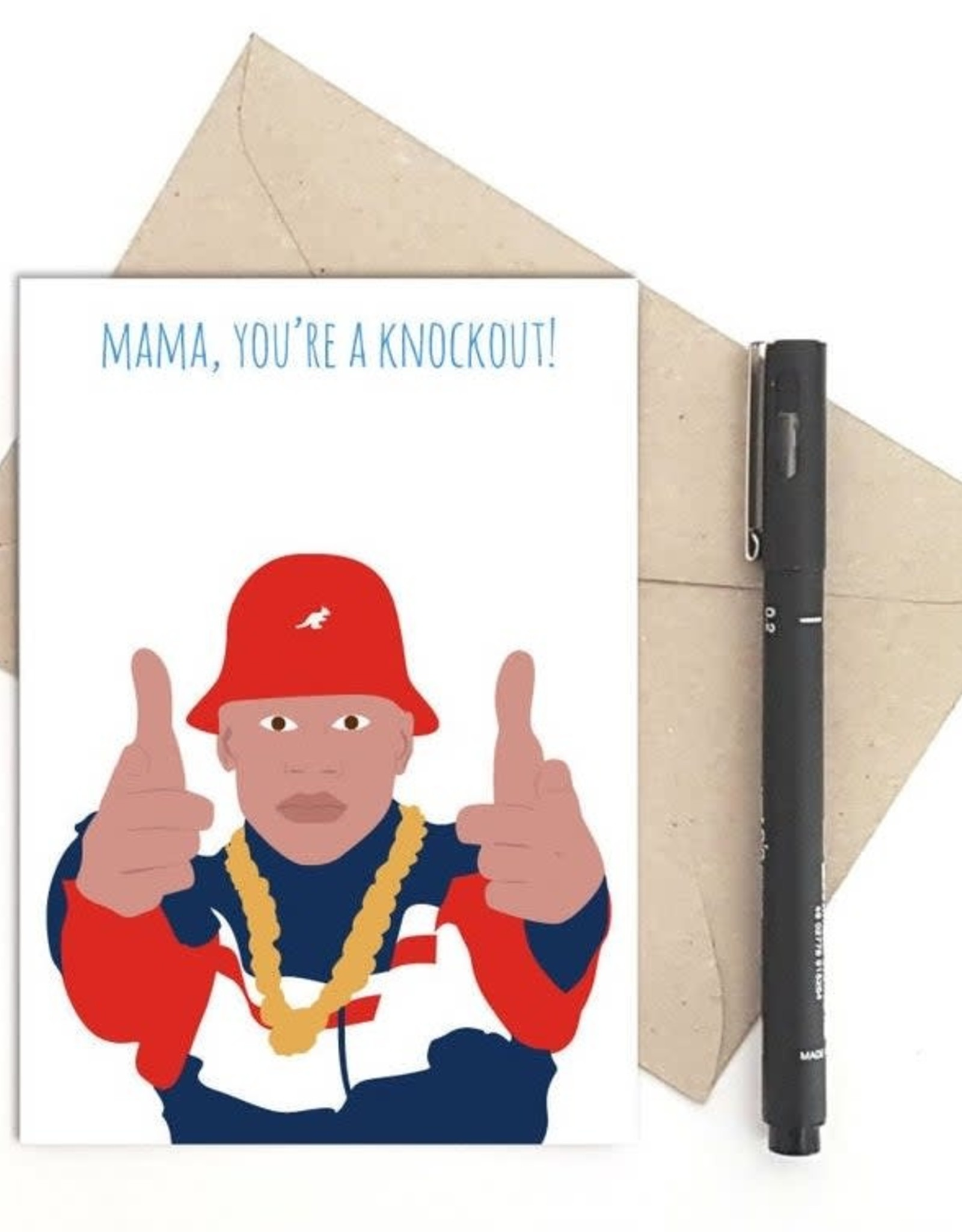 You're a Knockout (LL Cool J) Greeting Card