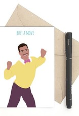 Meet Me in Shermer Bust a Move (Fresh Prince of Bel Air) Greeting Card