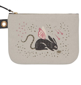 Large Zip Pouch : Beasties