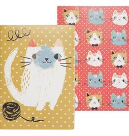 Danica Designs Meow Meow Cats Notebooks Set of 2