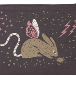 Small Cosmetic Bag : Beasties Jackalope