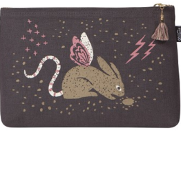 Danica Designs Small Cosmetic Bag : Beasties Jackalope