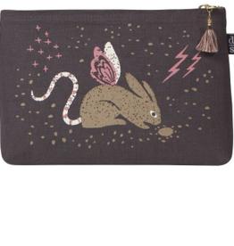Small Cosmetic Bag : Beasties Jackalope