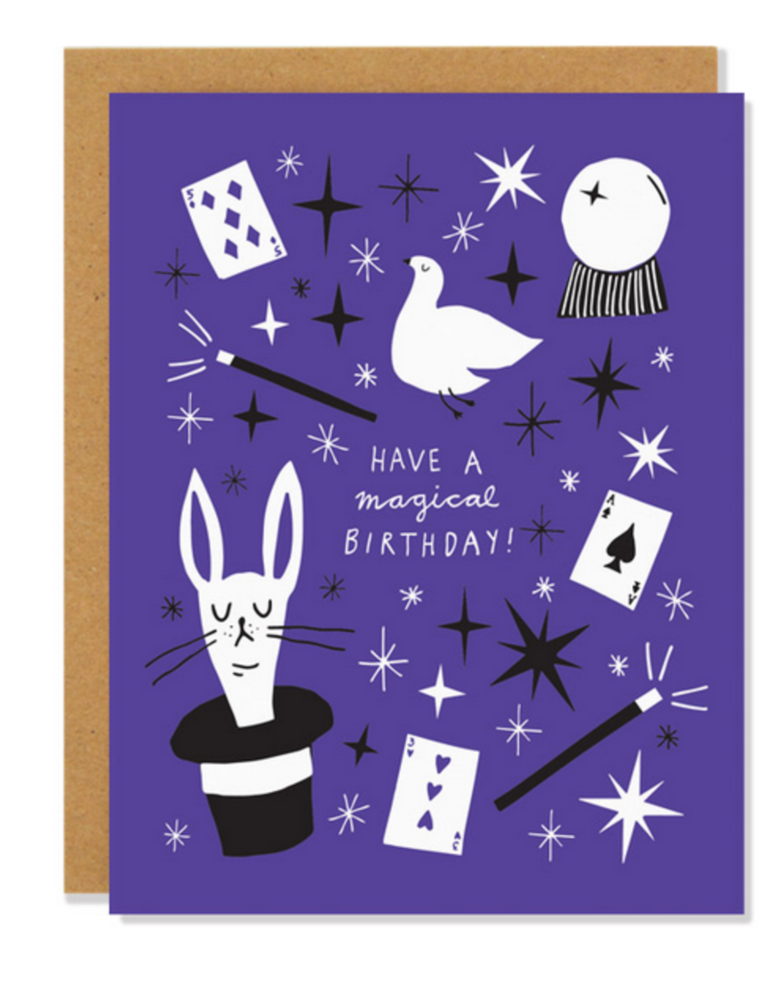 Badger & Burke Have a Magical Birthday! Greeting Card