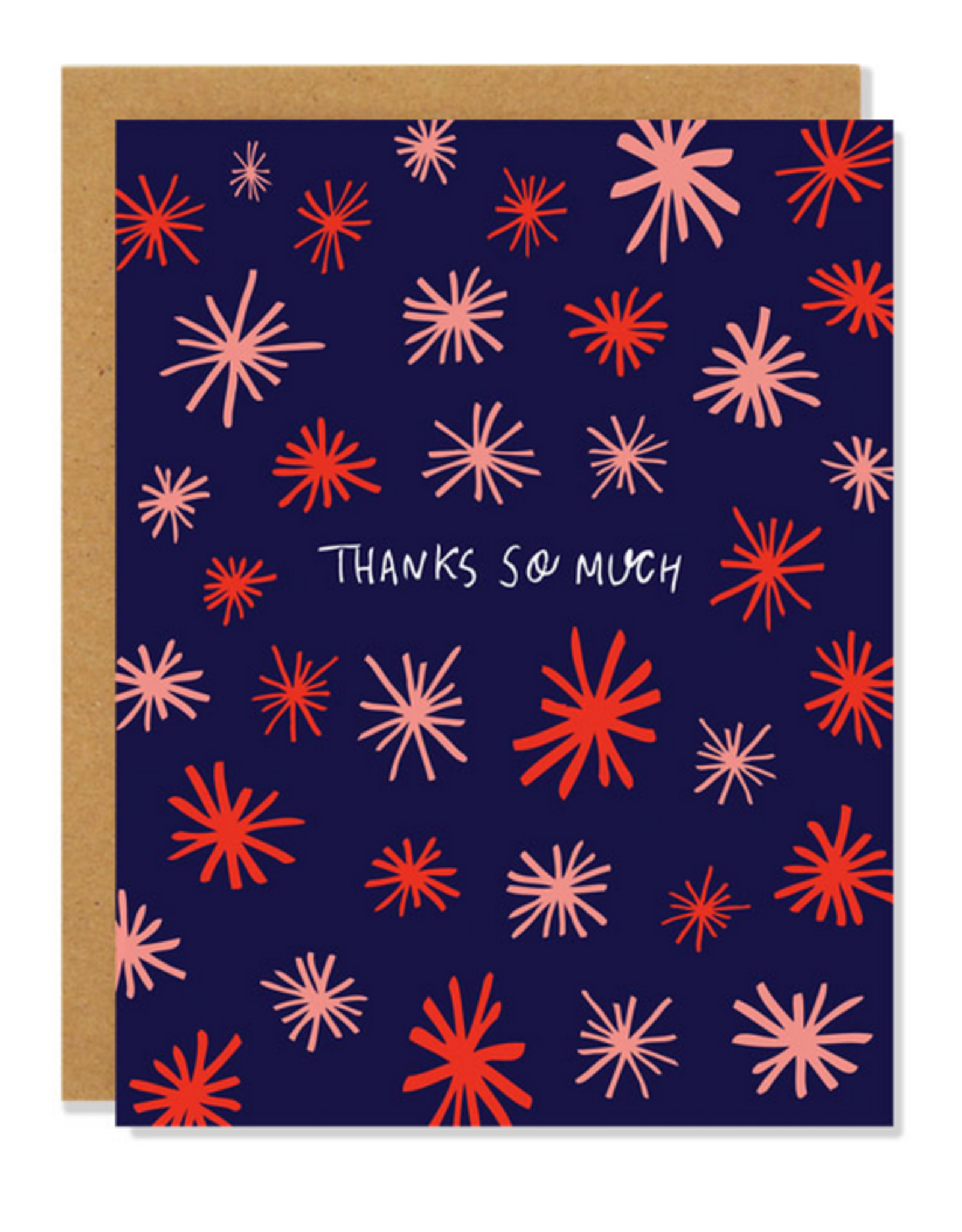 Badger & Burke Thanks So Much Asterisks Greeting Card