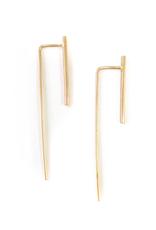 Adorn512 Long Bar Earrings