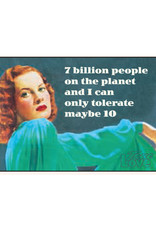 7 Billion People on the Planet... Magnet