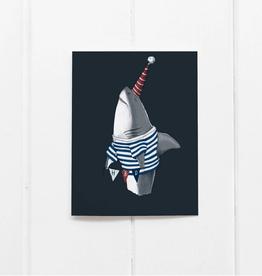 Ramus and Company HBD Birthday Shark Greeting Card