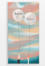 Forever and Always Balloons Greeting Card