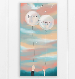 Ramus and Company Forever and Always Balloons Greeting Card