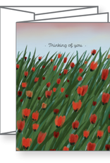 Ramus and Company Thinking of You Tulips Greeting Card