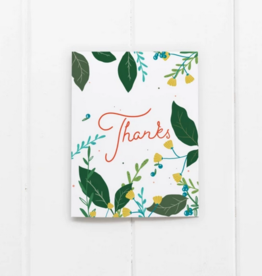 Ramus and Company Thanks Summer Flowers Greeting Card
