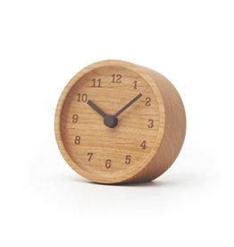 Lemnos Muku Desk Clock - Alder