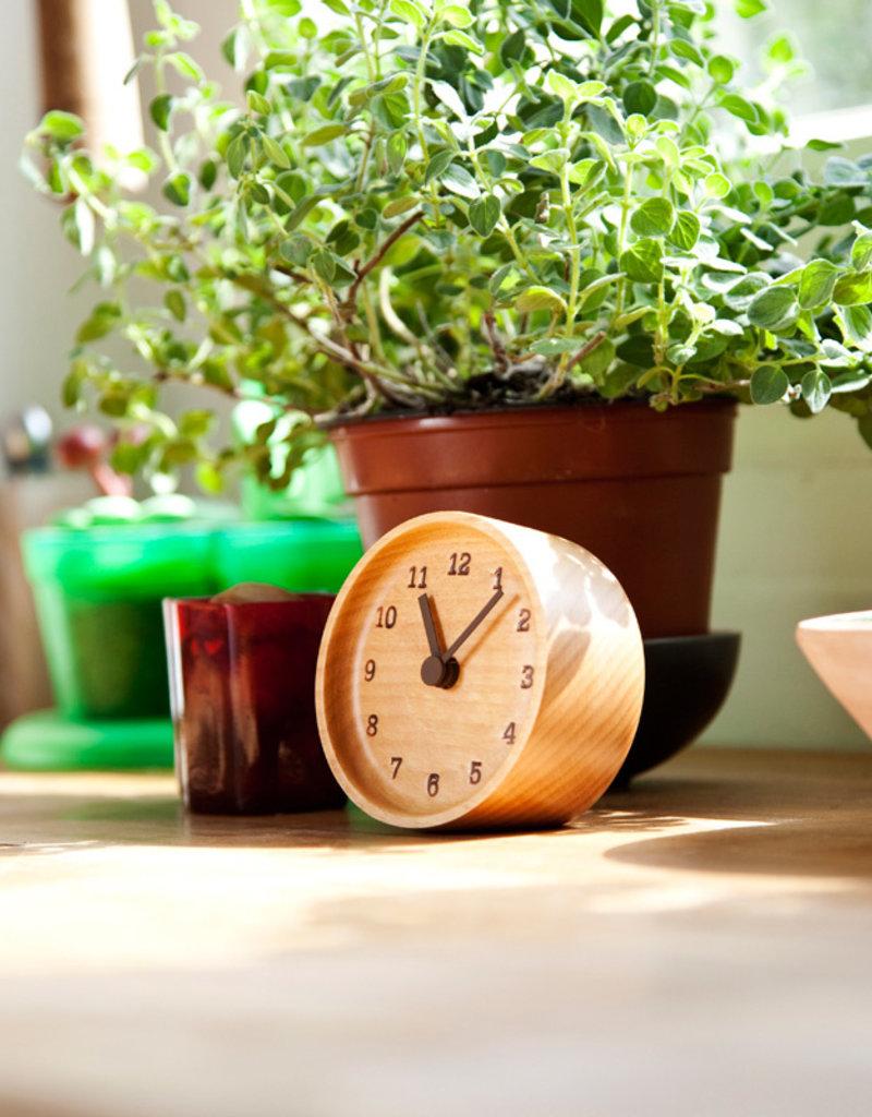 Lemnos Muku Desk Clock - Beech