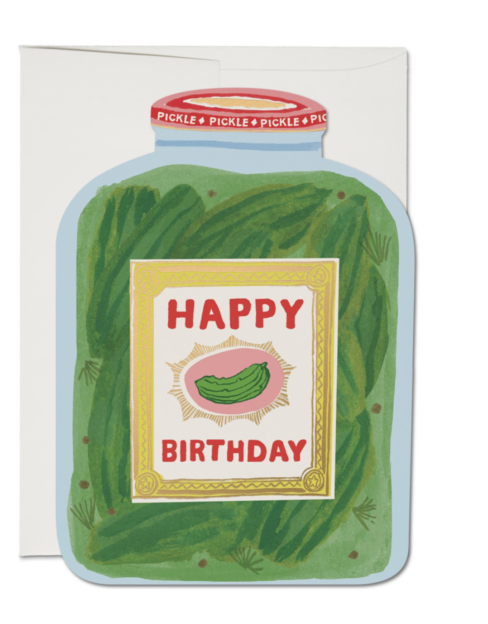 Pickle Birthday Greeting Card