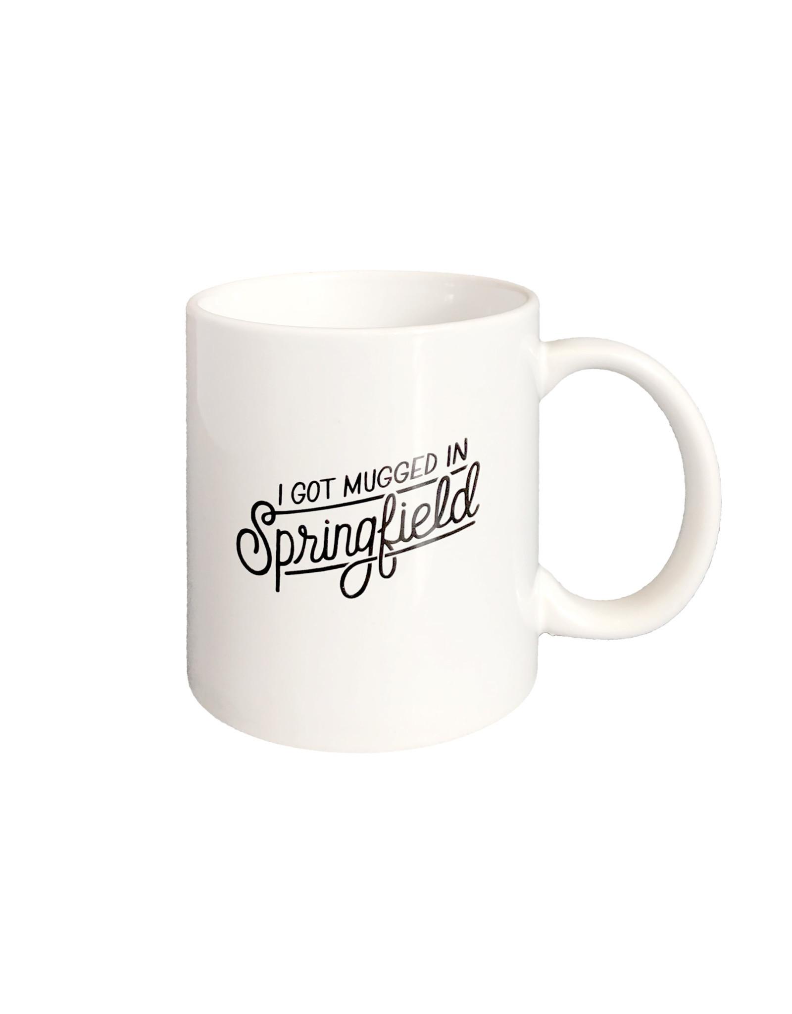 Halo I Got Mugged in Springfield Mug