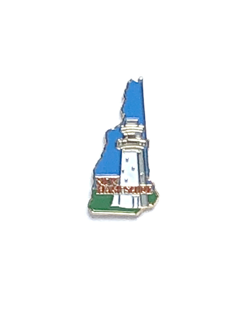 Sojourn Souvenirs New Hampshire Lighthouse Pin