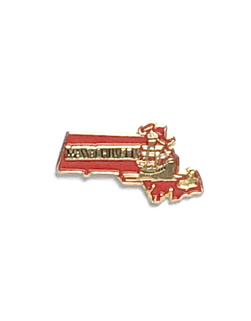 Sojourn Souvenirs Massachusetts Pin