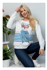 Hello Sailor Dog Sweatshirt