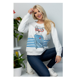 Hello Sailor Dog Sweatshirt