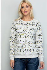 LA Soul Penguins on a Wire Sweatshirt