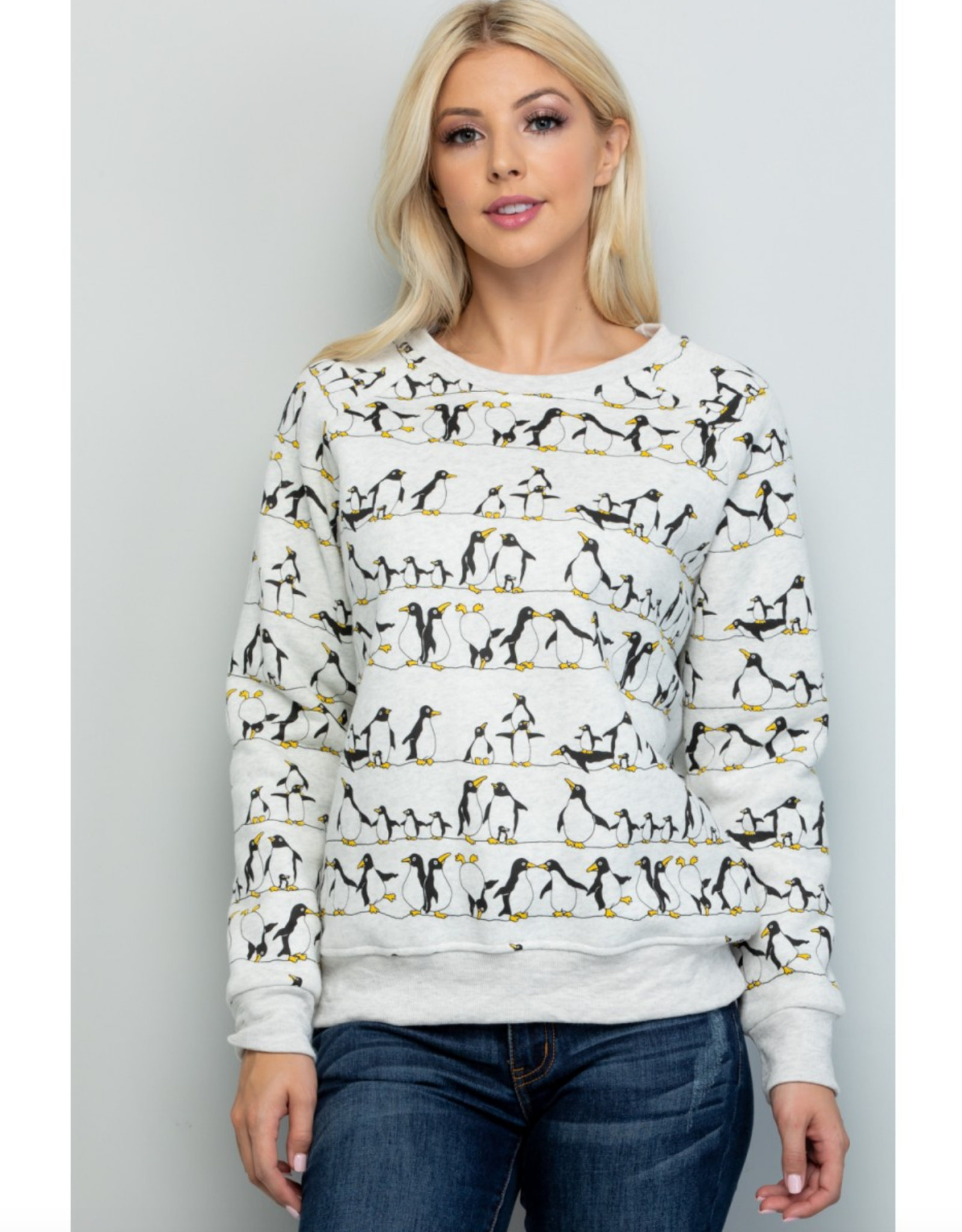 LA Soul Penguins on a Wire Sweatshirt