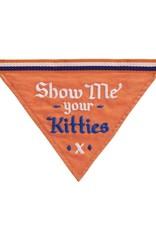 Easy, Tiger Show Me Your Kitties Dog Bandana
