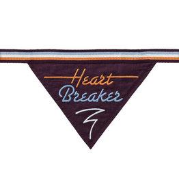 Easy, Tiger Heart Breaker Dog Bandana
