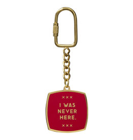 I Was Never Here Keychain