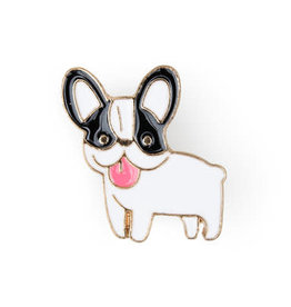 Suck UK Boston Terrier Enamel Pin