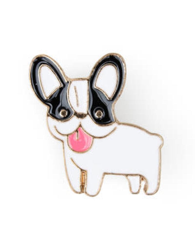 Suck UK Boston Terrier Enamel Pin