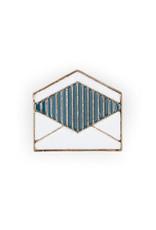 Suck UK Envelope Enamel Pin