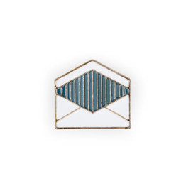 Suck UK Envelope Enamel Pin