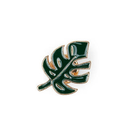 Suck UK Monstera Leaf Enamel Pin
