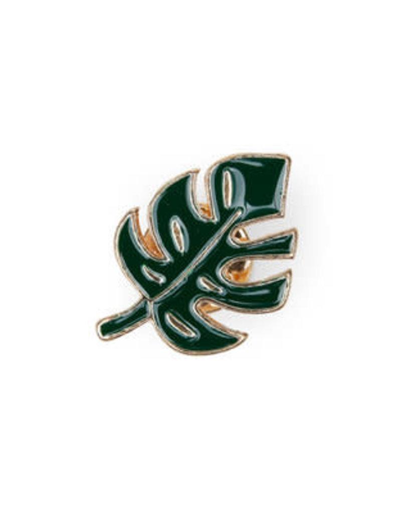 Suck UK Monstera Leaf Enamel Pin