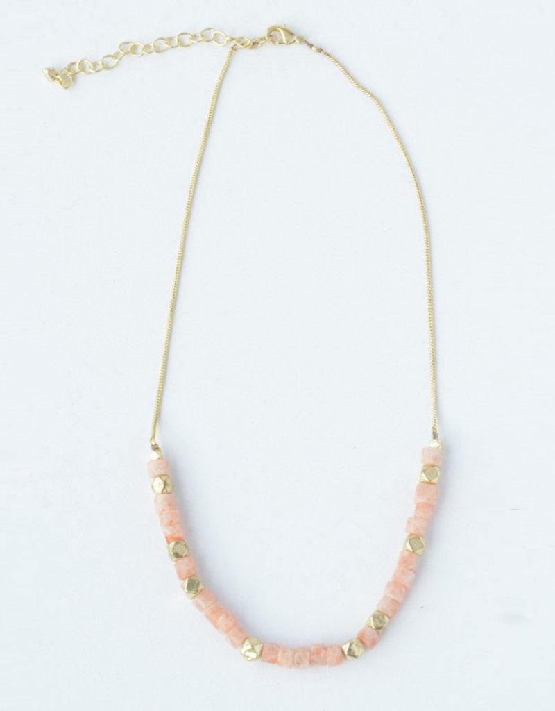 Fair Anita Sand Glass Necklace