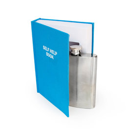 Suck UK Self Help Book Flask