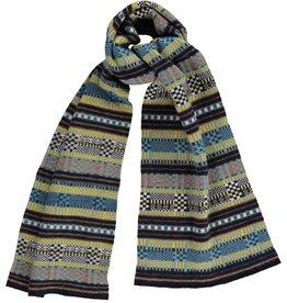 Quinton Chadwick Multi-Stitch Wool Scarf
