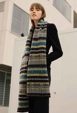 Multi-Stitch Wool Scarf