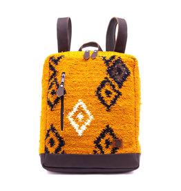 Achiote Guatemalan Goods Elementos Wool Backpack - Fuego